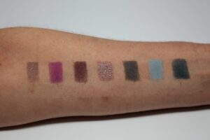 Cool Palette Swatches