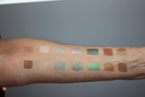 Even More Warm Palette Swatches