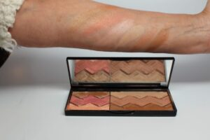 Sun Designer Palette 2-Light and Tan Vibes with swatches described above in article Vibes - the tonal neutral palette