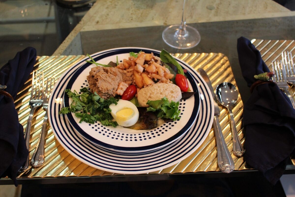 The first course for the Passover Sedar