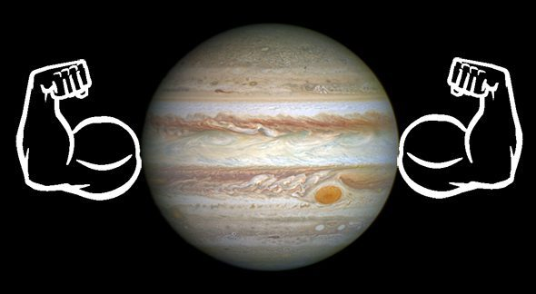 Jupiter is the mightiest object in the May 9th sky