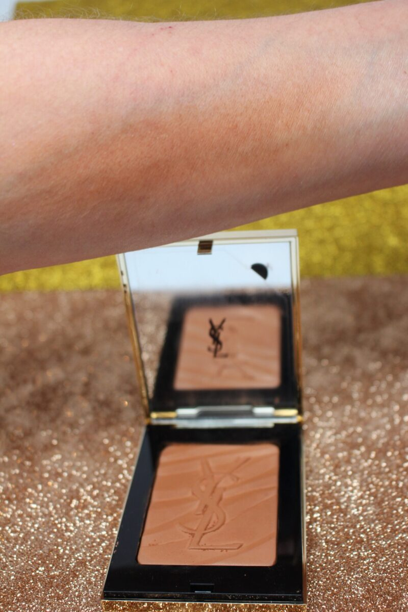 YSL Les Sahariennes Bronzing Stones Fire Opal Swatch