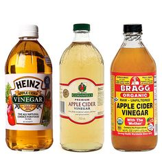 "Heinz and Braggs are two of the more well-known and the "" go to"" apple cider vinegars"