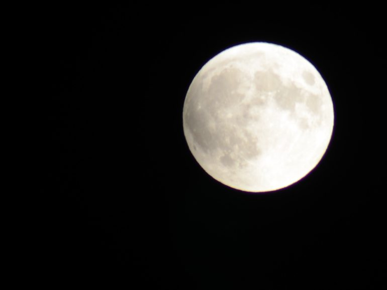 The fourth full moon between the March equinox and the June solstice