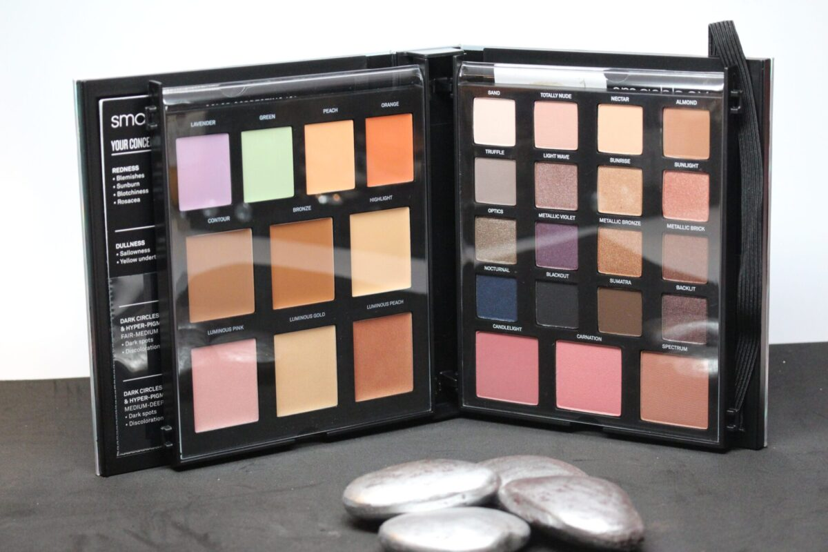 gorgois ! all the contour , color-correcting, and strobing, and eyeshadows and blush