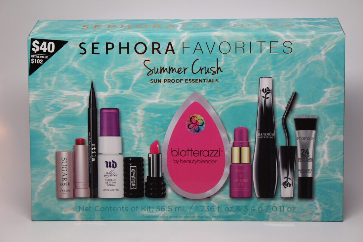 We loved the Sephora Favorites in Summer Crush!