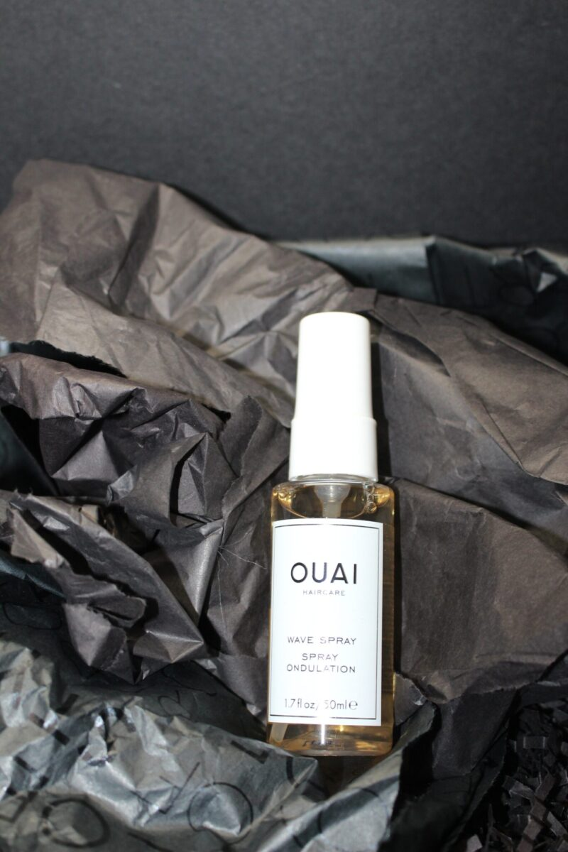 Next to come out of the box was a beauty item. Quai Haircare Wave Spray.