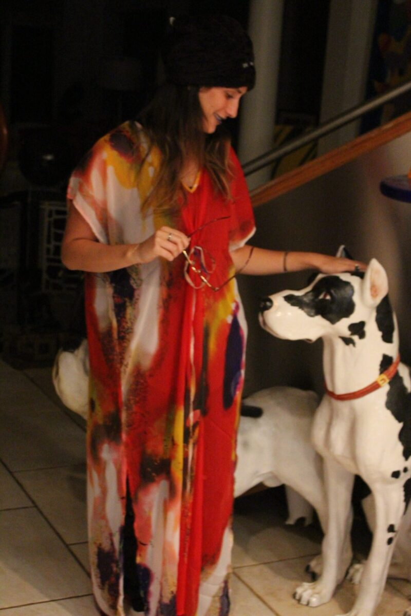 Racky loved the caftan! Actually, we both loved the caftan!!! I can't wait to wear mine!