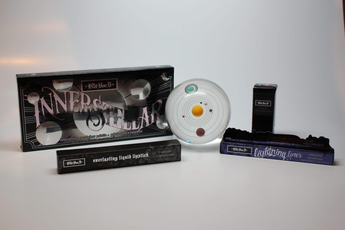 Kat Von D Exclusive Limited Edition Interstellar eye and lip set