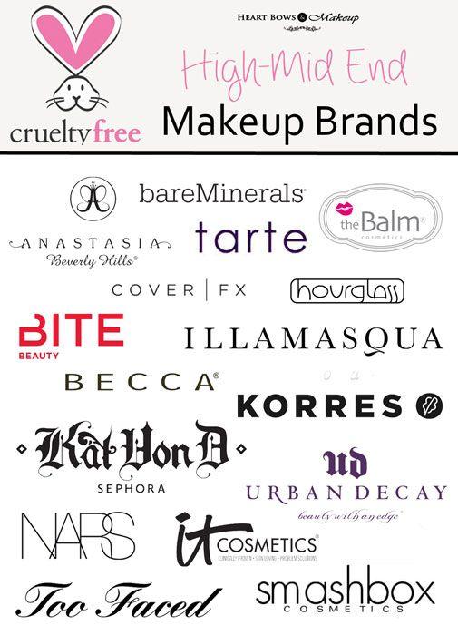 Types Of Makeup Brands Saubhaya