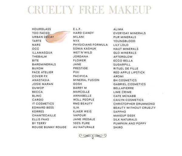 Tuesdays Tip Buy Cruelty Free Cosmetic Products