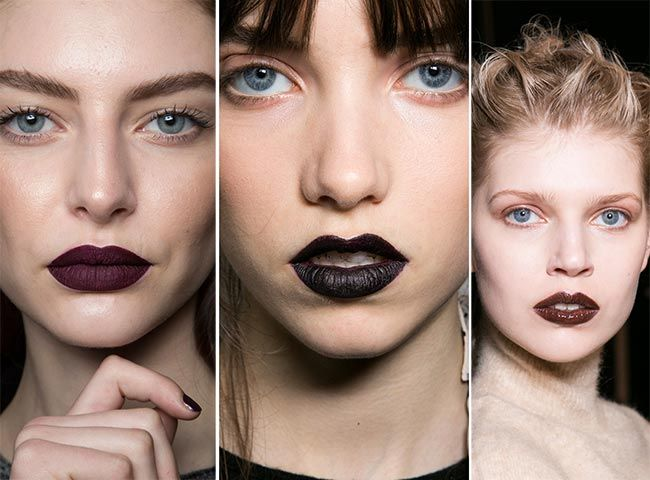 Modern Gothic, Vampy Lips for Fall 2016