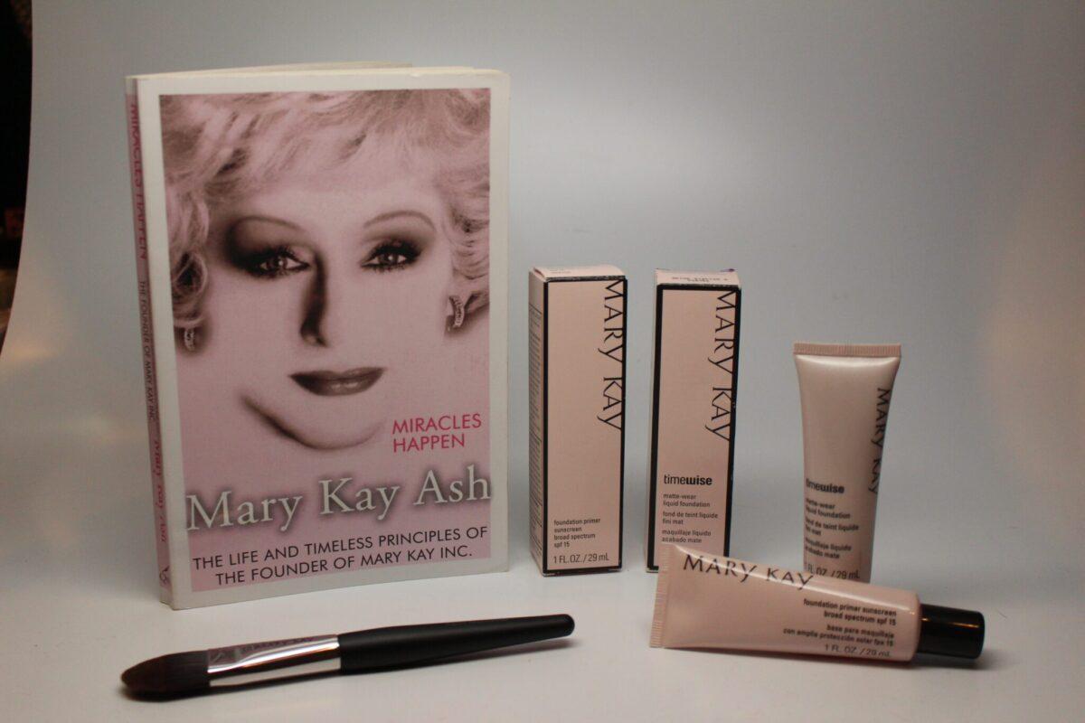 Mary Kay face primer and Mary Kay Foundation