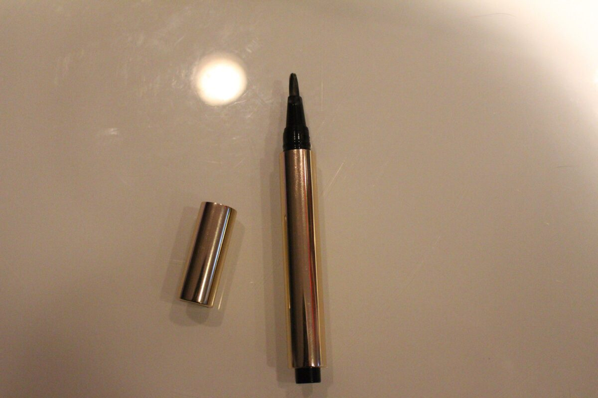 """The Moroccan Heat Lip Gloss is in a click """"pen"""" with a lip brush"""