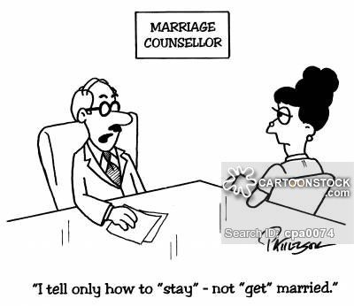 """""""I tell only how to """"stay""""- not """"get"""" married."""""""
