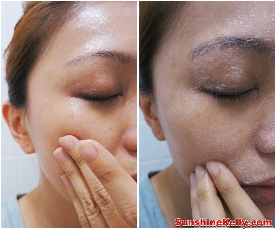Step one - remove makeup with cleansing oil