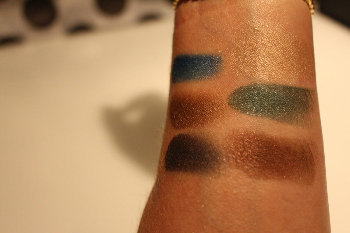swatches of the Eye Palette