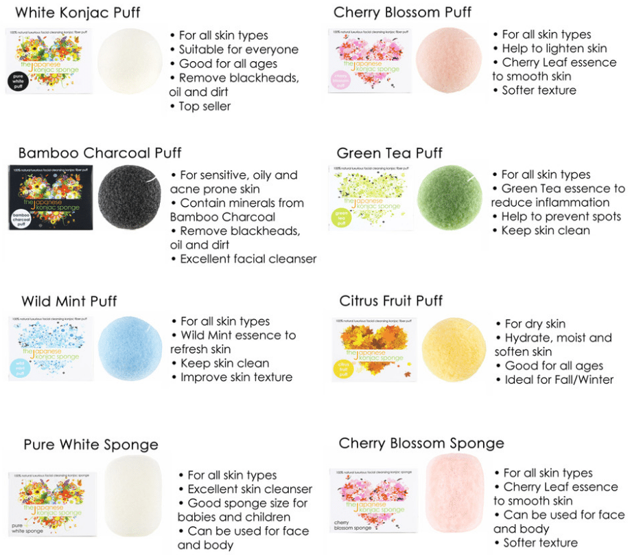 The Konjac Sponge The Hottest Skin Cleansers