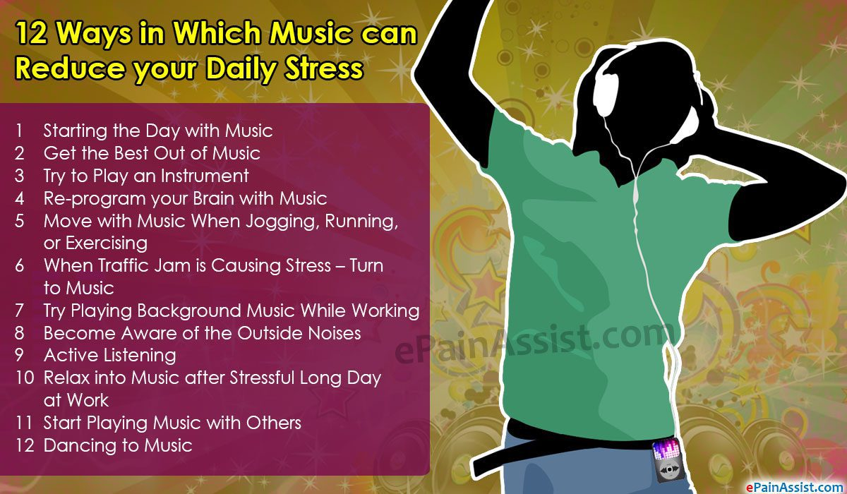 music can cure stress essay Essay on stress: it's meaning, effects and coping with stress on an easy chair or watching some light programme on television or listening to a light music.