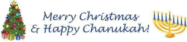 Image result for merry christmas happy hanukkah