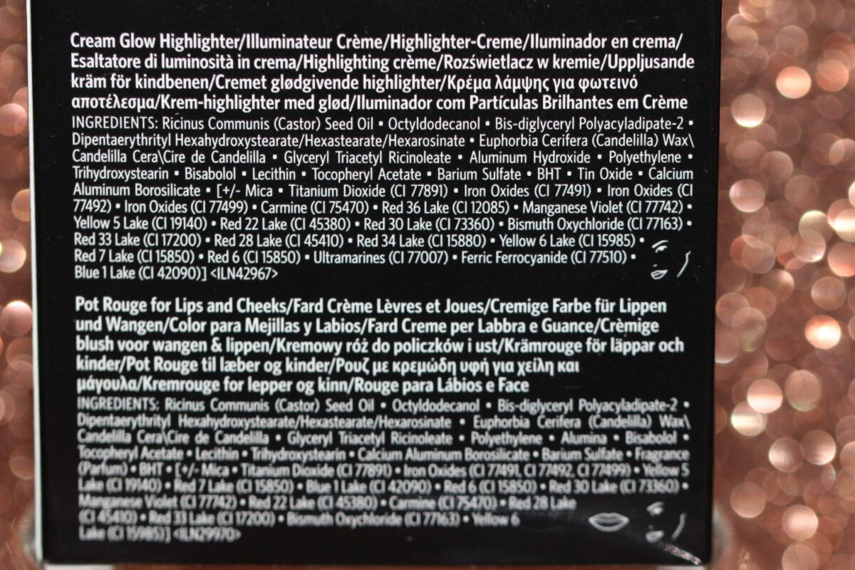 "Ingredients : Bobbi Brown Cheek Glow Palette""s New"