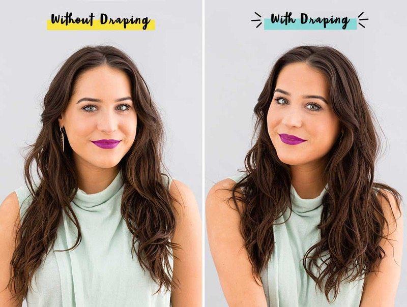 Draping-before-draping-photo-and-after-draping-photo