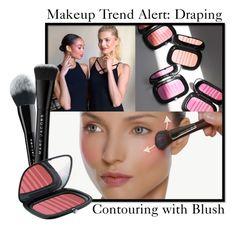 Draping-makeup-trend-alert-contouring-with-blush