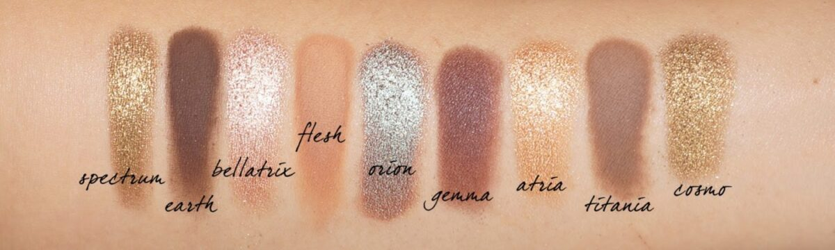 natasha-denona-star-palette-left-side-swatches