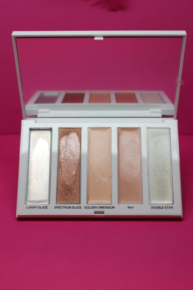 Sephora Pro Dimensional Highlighter Palette in warm