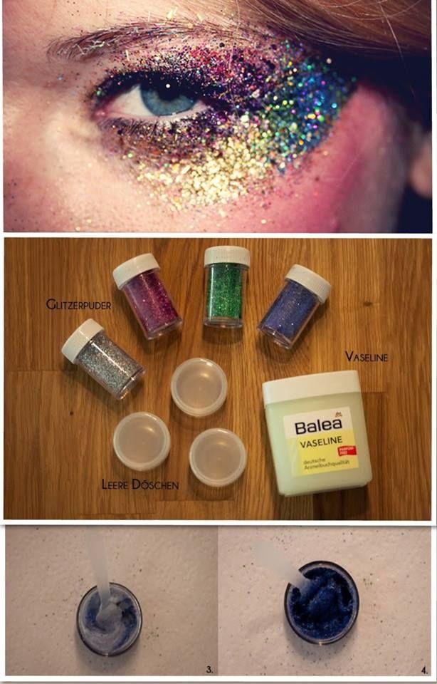 glitter, glitter-messy glitter!