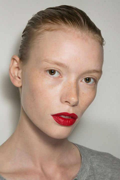 Red lips are always in style!