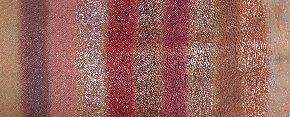 Natasha Denona Star Palette swatches coo shades