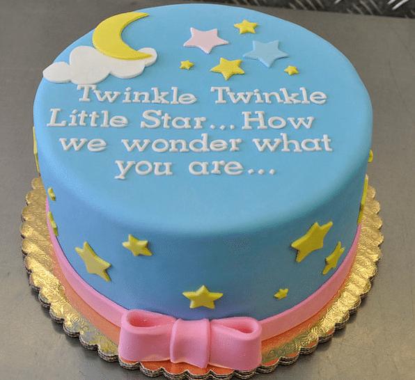 twinkle-twinkle-gender-reveal-cake