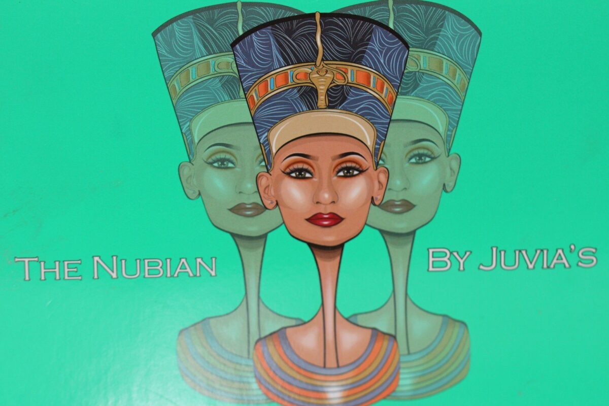 Juvias-The-Nubian-inspired-by-egyptian-empire-queen-Nefertiti-12-reflective-shades-golds-coppers-browns0nudes