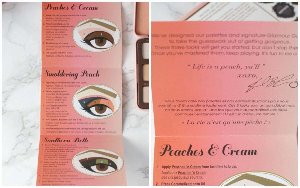 Two-faced-sweet-peach-eyeshadow-guide-to-three-looks-with-palette