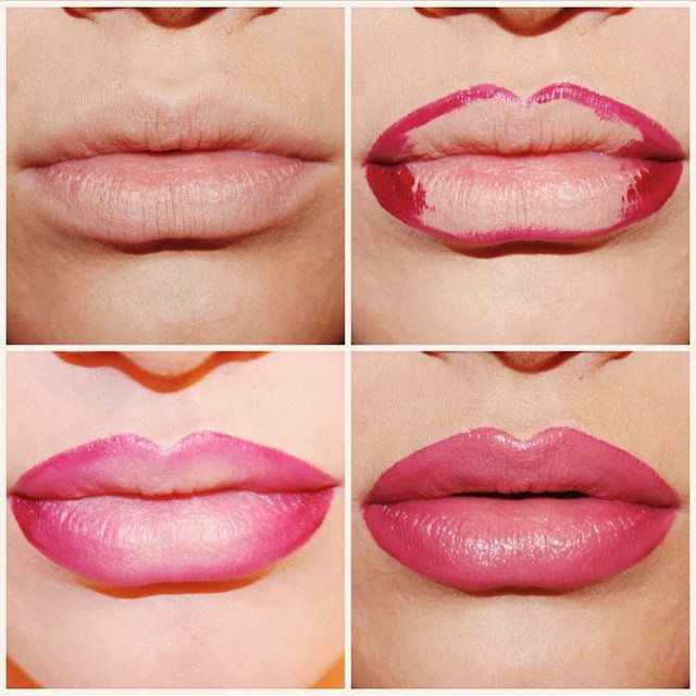 Trending : The Ombre Lip : How To Do An Ombre Lip