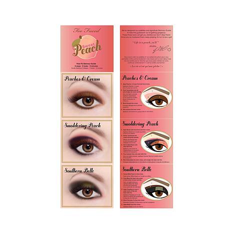 too-faced-sweet-peach-eyeshadow-palette-guide-three-looks