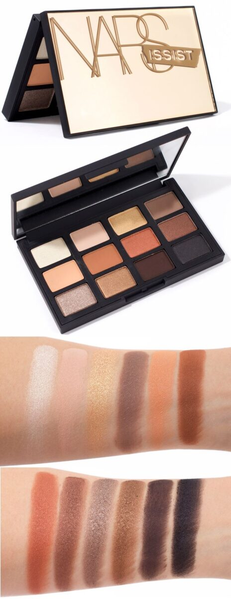 Nars-Narsissist-Loaded-eye-shadow-palette-swtches