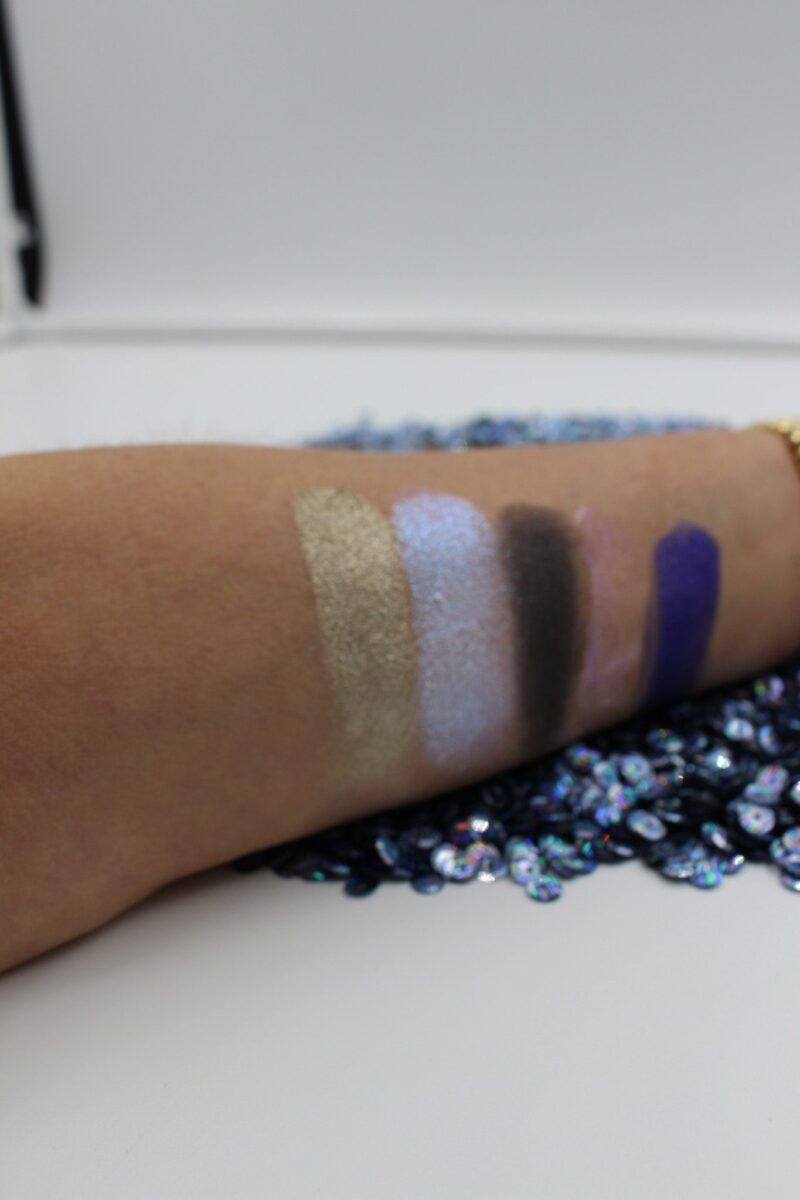 Ultra Violet Blue Kit swatches