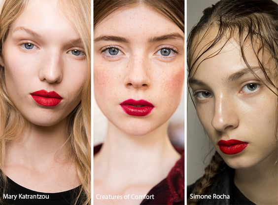More Spring/Summer Makeup Trends for 2017 From Fashion Week
