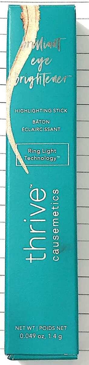 OUTER BOX FOR THRIVE BRILLIANT EYE BRIGHTENER
