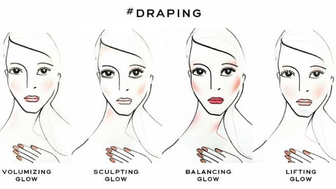 THE DRAPING BLUSH TECHNIQUE