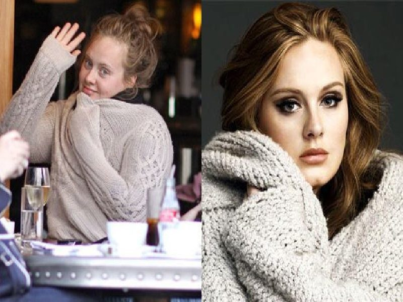 same sweater, different faces