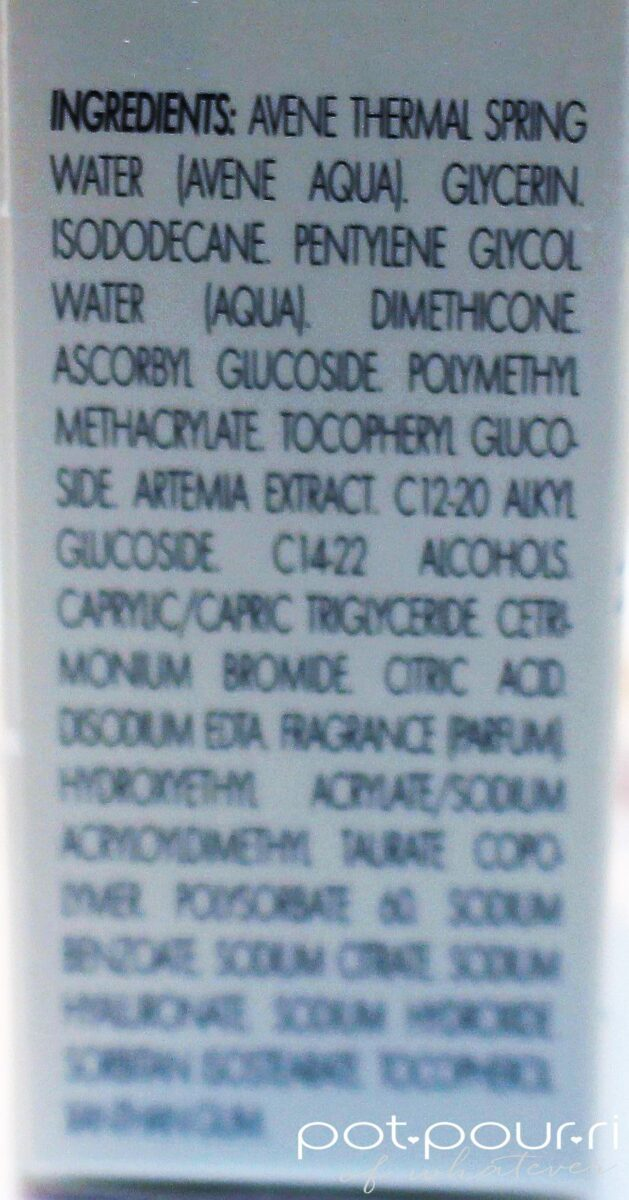 A-Oxitive Serum ingredients
