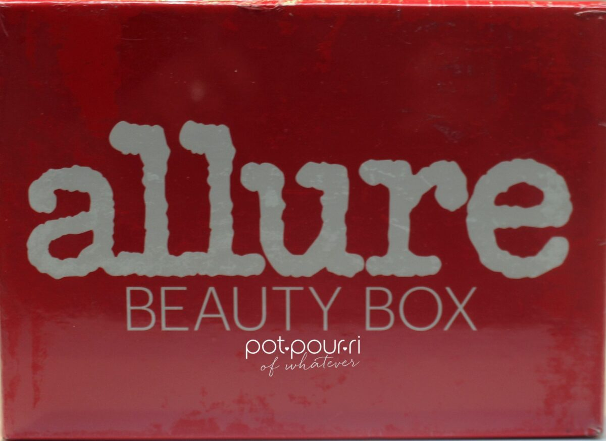 The Allure Beauty Box for October 2017