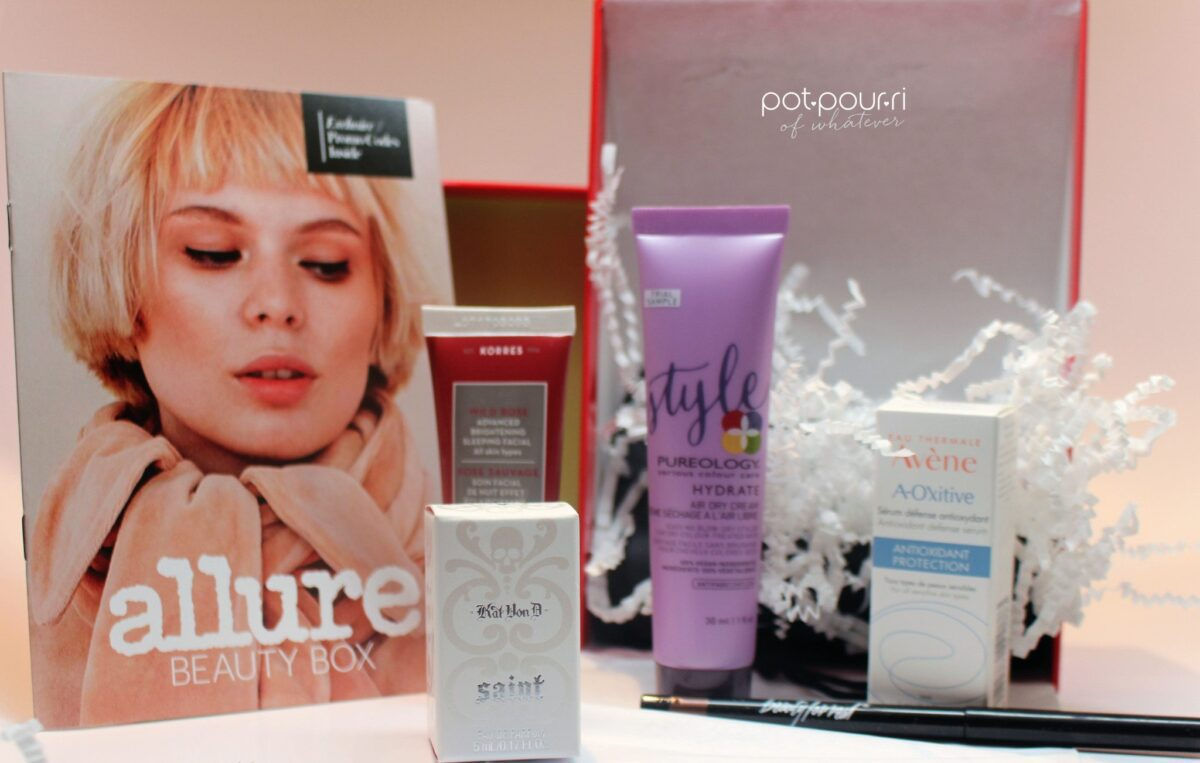 Unboxing the Allure Beauty Box