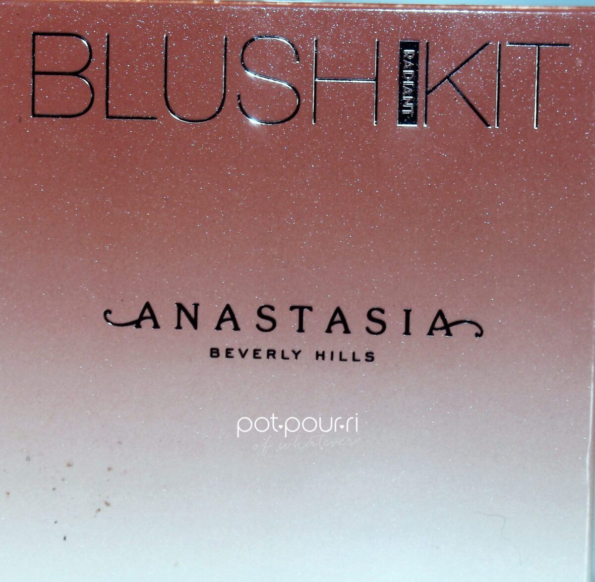 Anastasia Radiant Blush Kit packaging