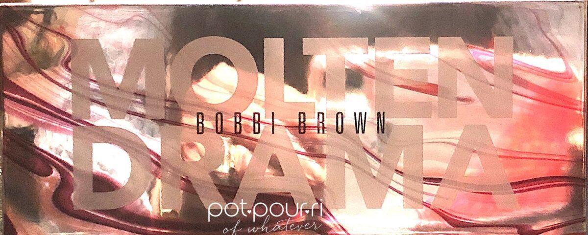BOBBI BROWN MOLTEN DRAMA EYE SHADOW PALETTE COMPACT