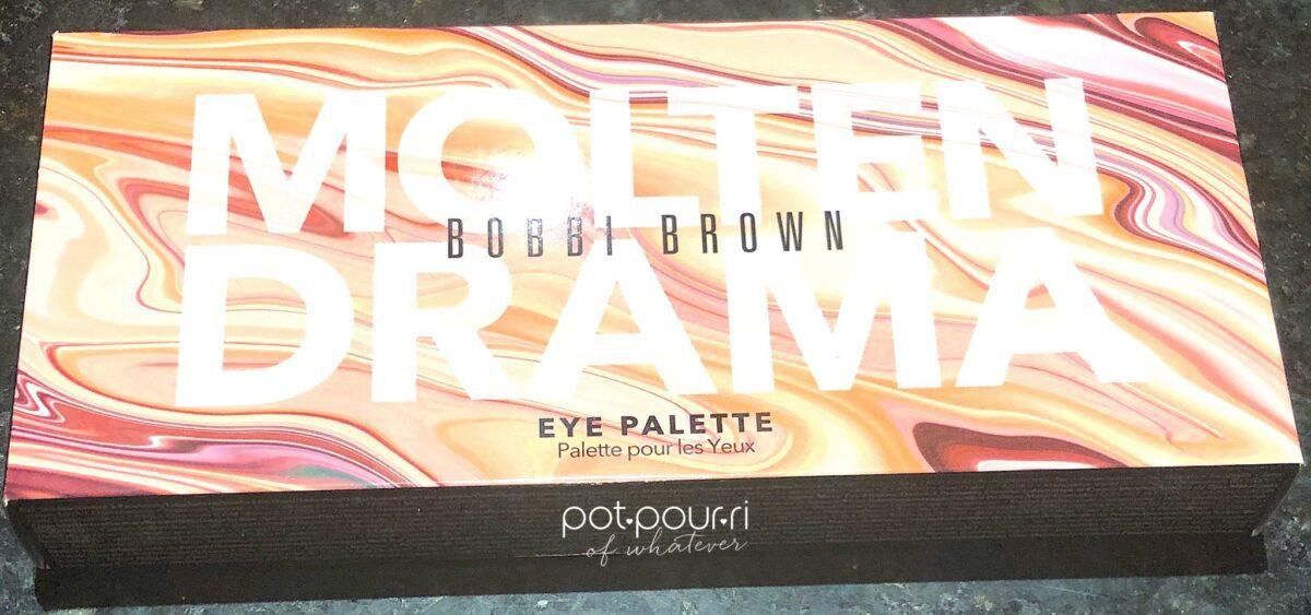 BOBBI BROWN MOLTEN DRAMA PACKAGING BOX