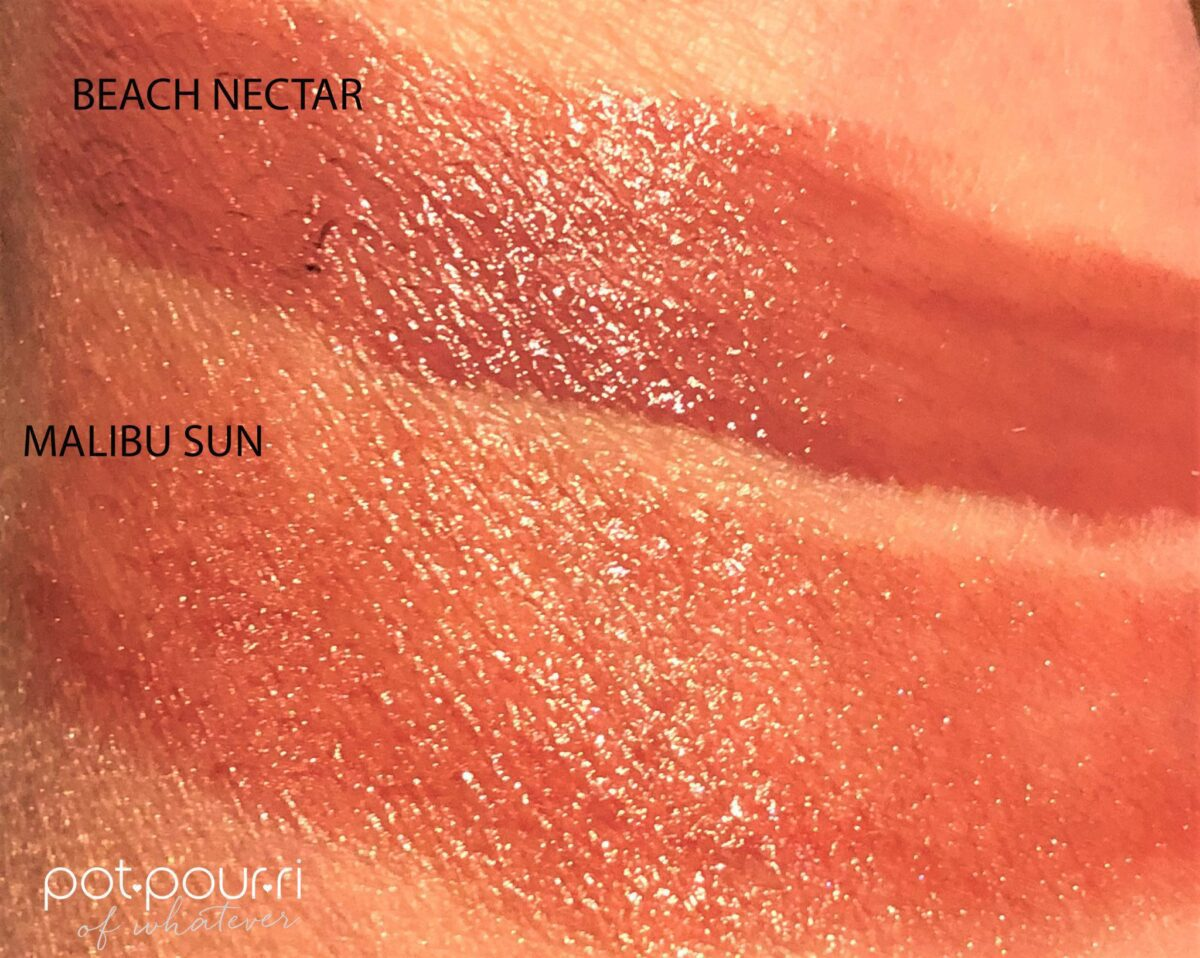 Becca Chrissy Teigen Endless Summer Glow Gloss Swatches